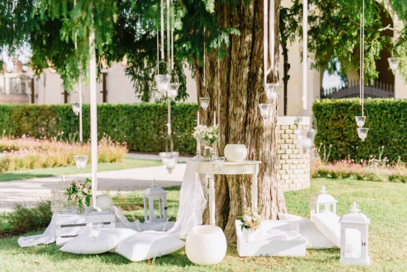 villa dei vescovi wedding decor
