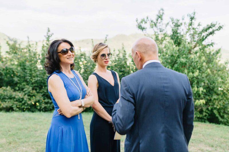 villa dei vescovi wedding guests