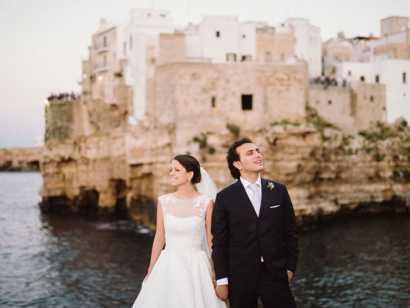Seaside Italy Wedding // Ági + Daniele
