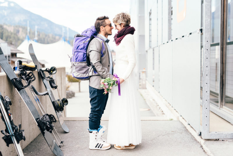 austria ski resort wedding