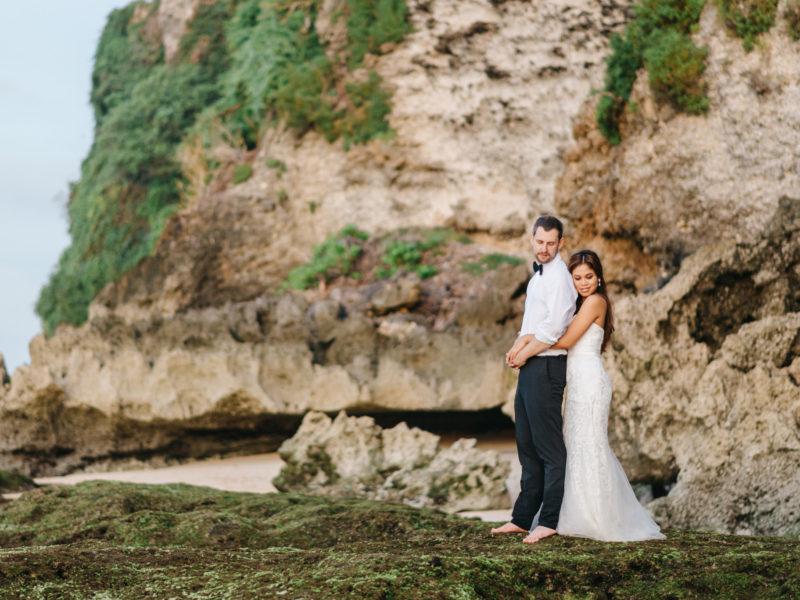 Bali Beach Pre-Wedding  // Tia + Andi