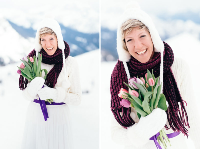 snowboard bride bouquet
