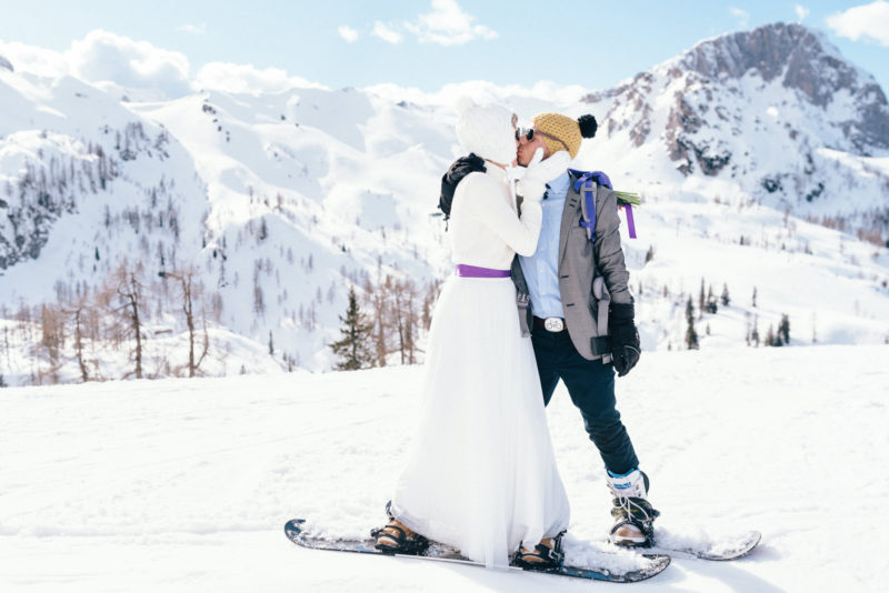 winter prewedding