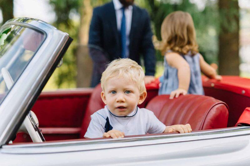 italy wedding car