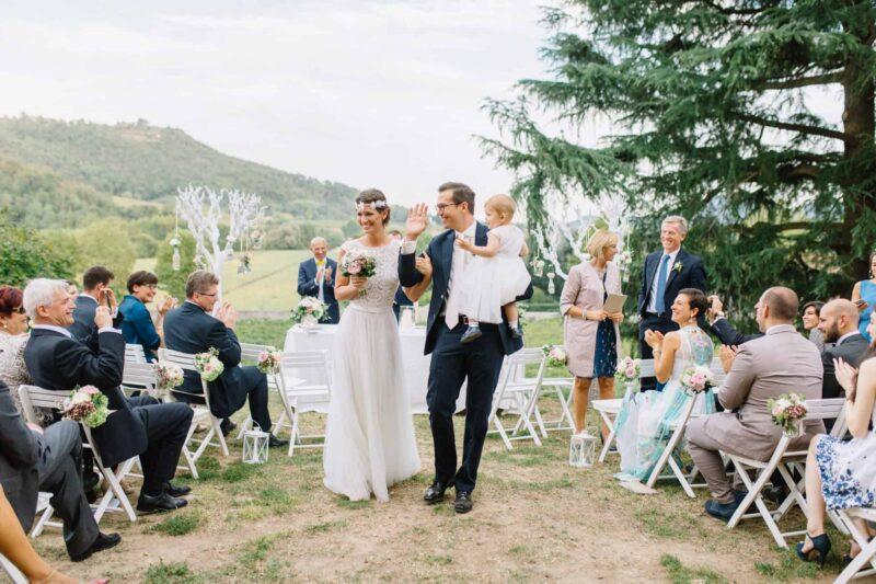villa dei vescovi wedding ceremony