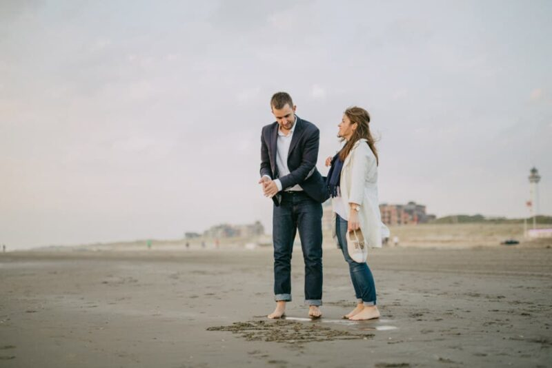netherlands beach engagement