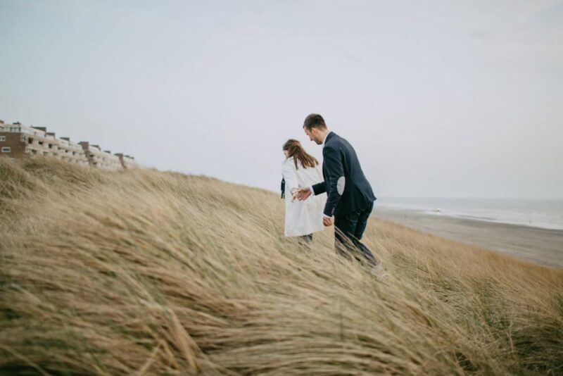 egmond aan zee engagement session