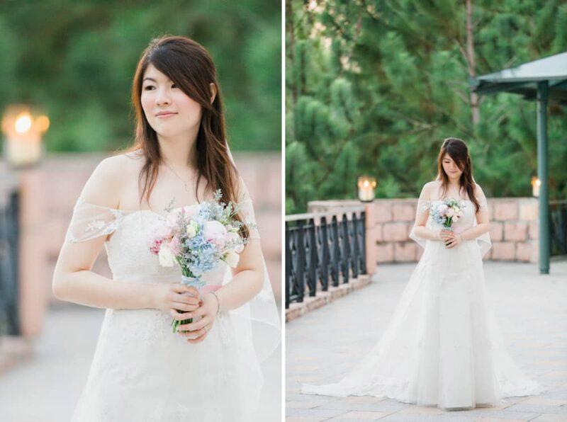 malaysia bride portrait