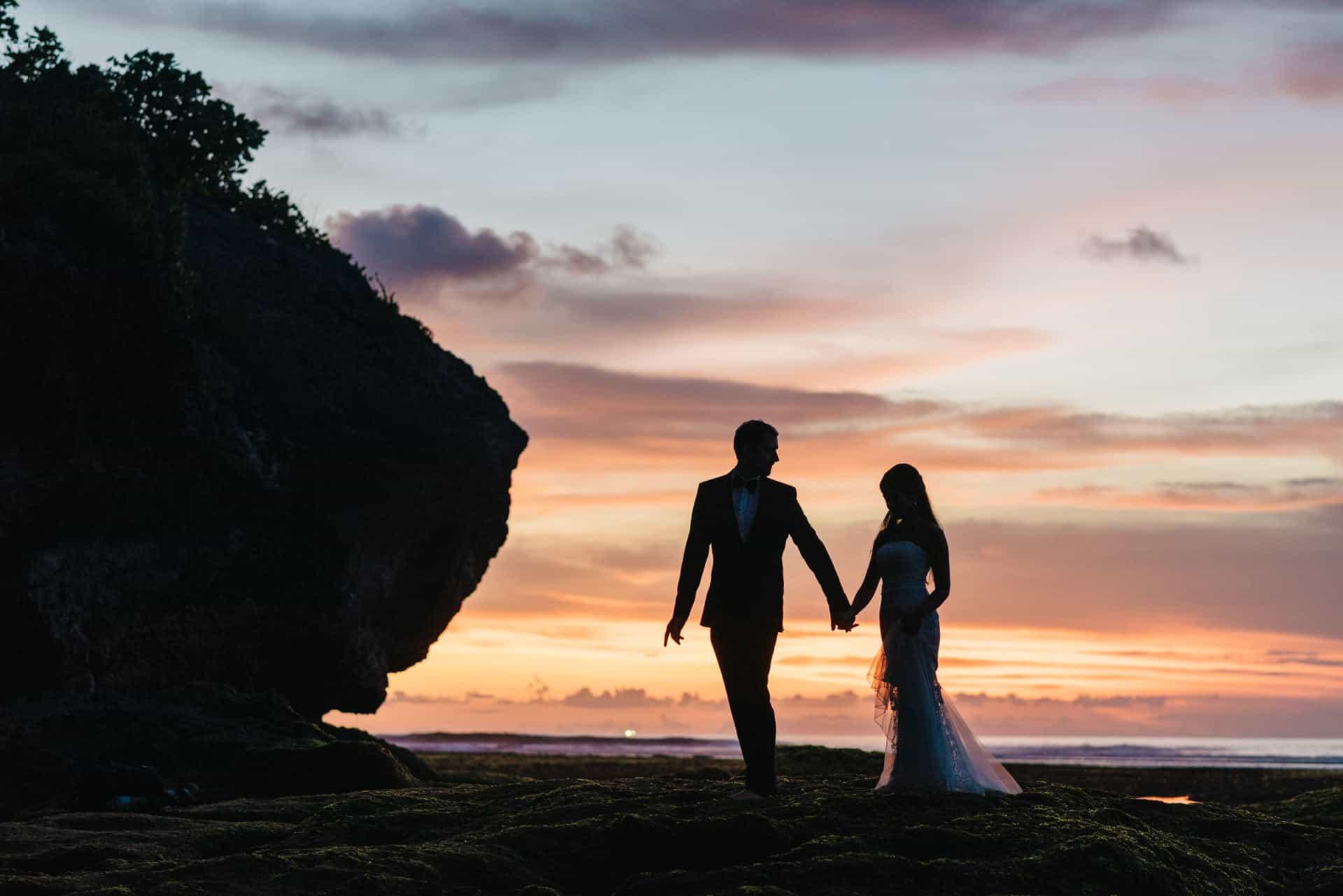 suluban beach sunset