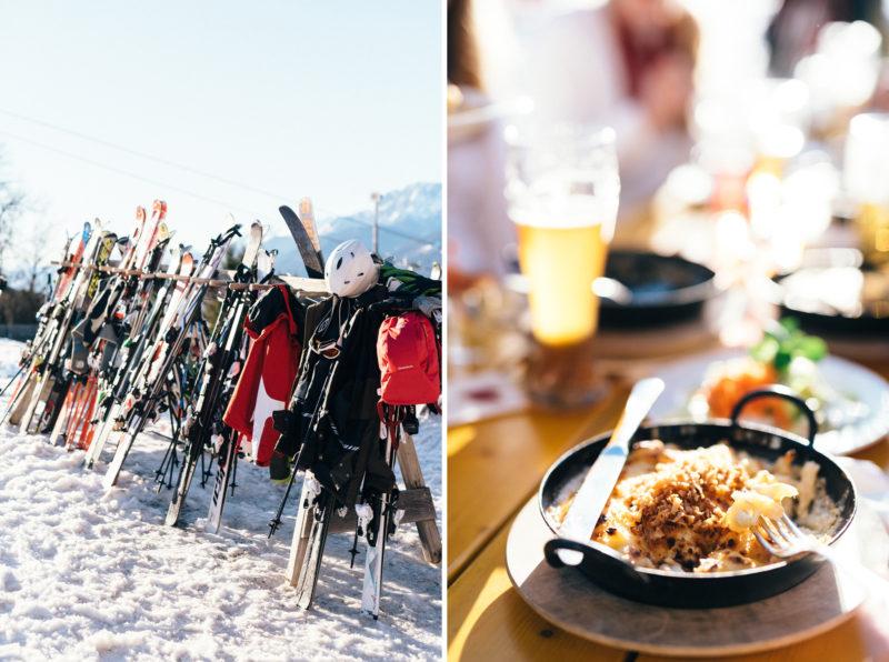 ski prewedding