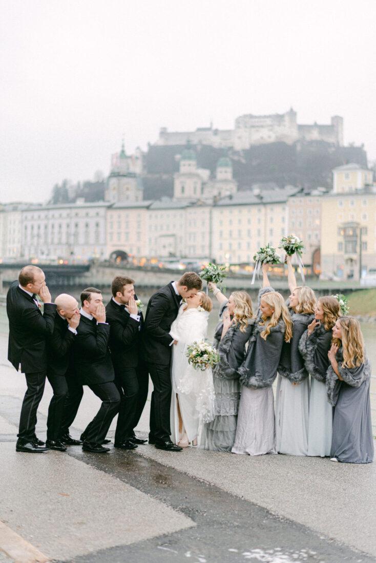 Wedding in Salzburg Austria